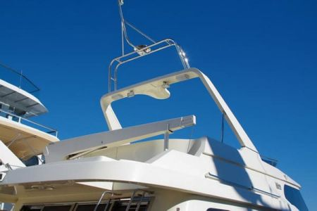 58 Feet Pilothouse Du thuyền boong trên