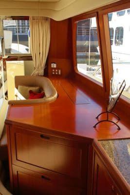 58 Feet Pilothouse Du thuyền tủ bảo quản