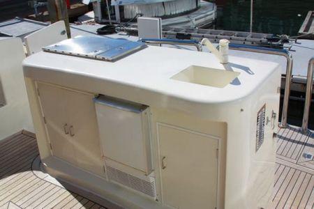 58 Feet Pilothouse Du thuyền quầy bar ngoài trời