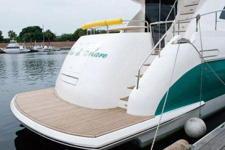 56 Fuß Sportbridge Yacht das Sprungbrett