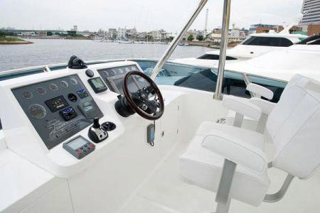 56 Fuß Sportbridge Yacht die Kabine