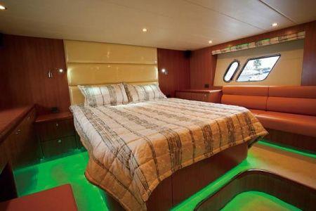 56 Fuß Sportbridge Yacht das Hauptschlafzimmer