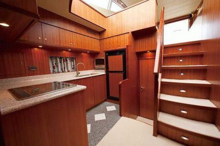 56 Fuß Sportbridge Yacht die Bar