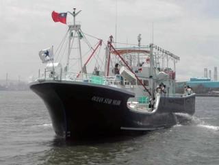 100GT Fackel-Fischerboot
