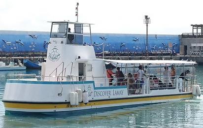 Passenger ship and sightseeing boat