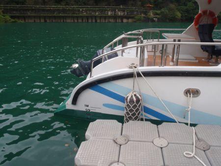 7GT Eco Ship-solar Powered Patrol Boat Stern appearance