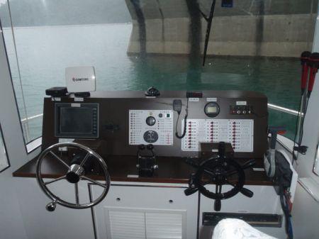 7GT Eco Ship-solar Powered Patrol Boat Cab
