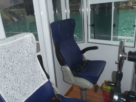 7GT Eco Ship-solar Powered Patrol Boat Driving chair