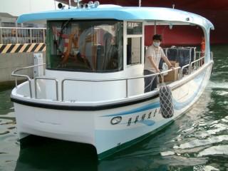 7GT FPR Solar electric Patrol Boat