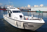 perahu nelayan laut 48 kaki