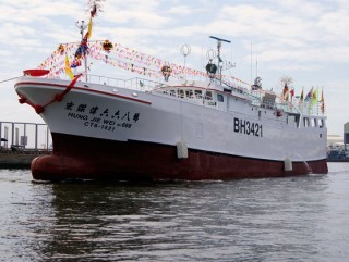 380GT Thunfisch-Langliner-Fischerboot