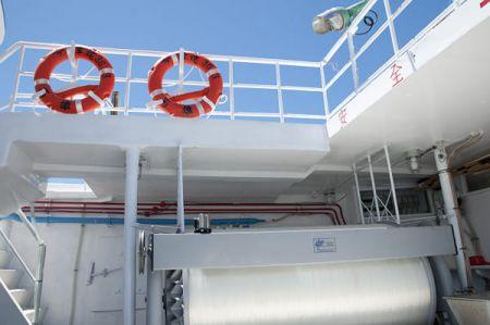 100 GT Tuna Long Liner Boat Main deck equipment