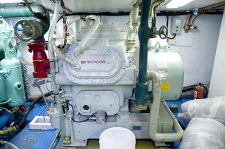 100 GT Tuna Long Liner Boat Refrigeration unit