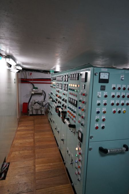 140 GT Tuna Long Liner Boat Main deck switchboard