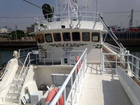 230GT Tuna Long Liner Boat Bow passage