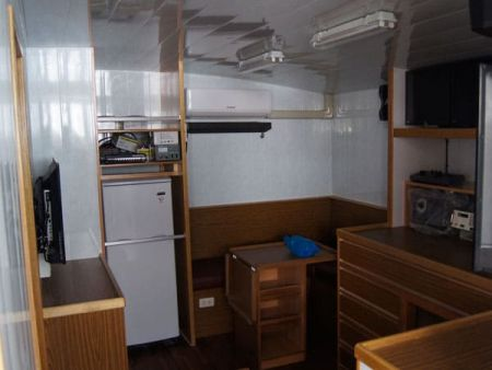 230GT Tuna Long Liner Boat Captain's Room