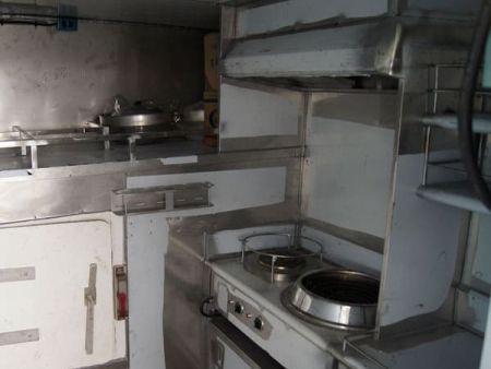 230GT Tuna Long Liner Boat kitchen