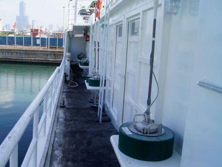 230GT Tuna Long Liner Boat Deck access