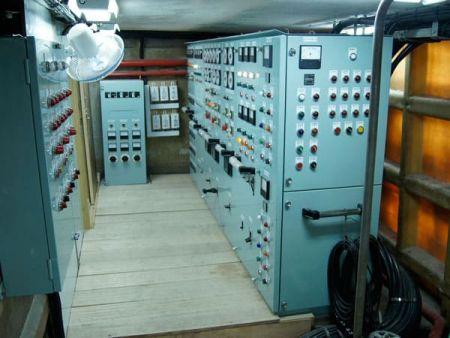 230GT Tuna Long Liner Boat Main switchboard