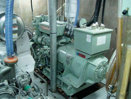 230GT Tuna Long Liner Boat Generator set