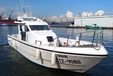 Barco de pesca marítima de 48 pés