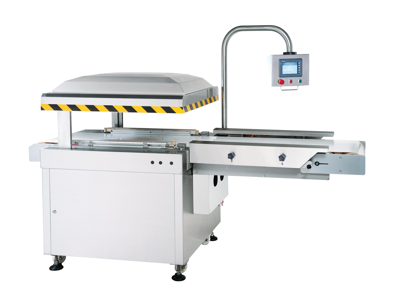 Автоматична вакуумна пакувальна машина типу рядкового ременя