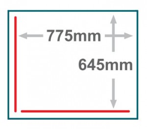 Frame : chamber,Red line : sealing