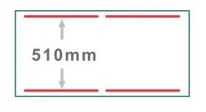 框: 真空槽,红线: 封口线