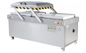 Heavy Duty Double Chambers Automatic Vacuum Packaging Machine - Heavy Duty Double Chambers Automatic Vacuum Packaging Machine
