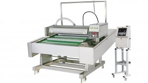 Continuous Belt Type Automatic Vacuum Packaging Machine with Injection Printing System - Continuous Belt Type Automatic Vacuum Packaging Machine with Injection Printing System