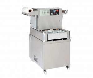 Semiautomatic Tray Sealer with Vacuum and Gas Flushing / Skin Pack