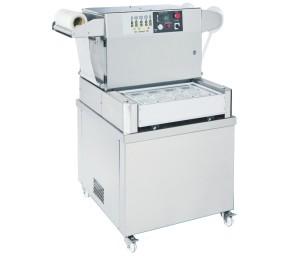 Seladora de bandeja semiautomática com vácuo e lavagem a gás / pacote de pele - Seladora de bandeja semiautomática com vácuo e lavagem a gás / pacote de pele