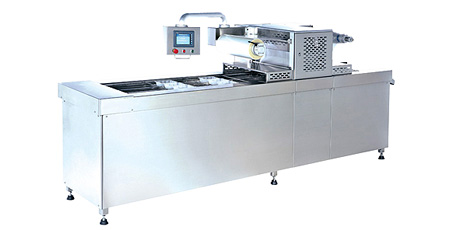 Tray Sealer with Vacuum & Gas Flushing