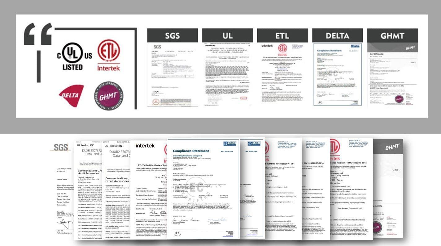 Third Party Certifications