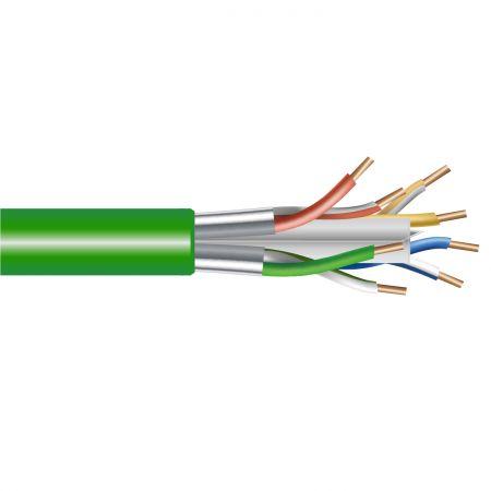 Kategori 5E FTP Ağı katı Kablosu - Cat.5E Lan Kablosu