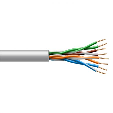 Twisted Pair Category 6 UTP Indoor Solid Cable