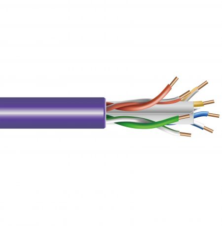 PVCジャケットCat.6      UTP バルクランケーブル23AWG - PVCジャケットCat.6      UTP バルクランケーブル23AWG