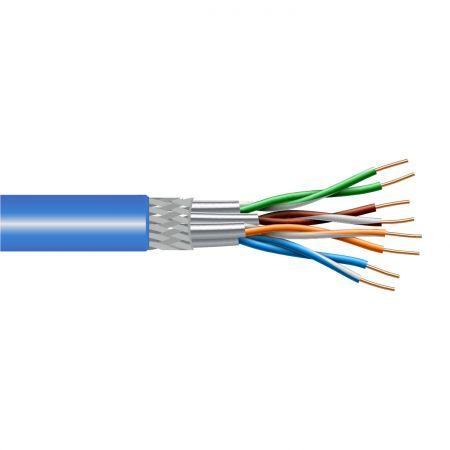 Câble solide à paires torsadées en vrac Cat6A 500MHz - Câble LAN Cat.6A