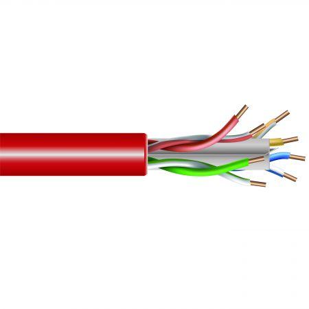 LSZH Cat.6A Bulk Lan Cable Wire U/UTP