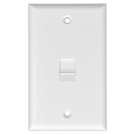 Single Gang American Wall Plate with shutter - American Style RJ45 wall plate with shutter