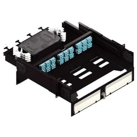 Bi Direction Sliding Fiber optic patch Panel - Bi-Direction Fiber Enclosure
