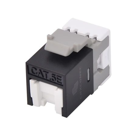 UL listed Cat5e 180 degree UTP Keystone Jack - UL listed cat6 punch down keystone jack