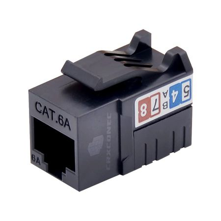 category 6A UTP punch down type keystone modular jack - UTP 90 degree keystone jack combines with handing tool