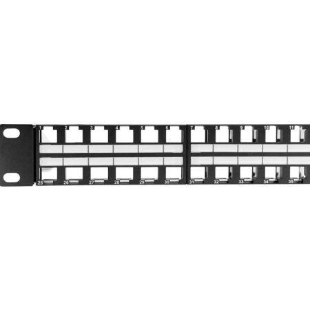 48Port UTP Blank Rackmount RJ45 Panel