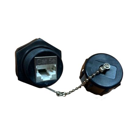 IP68 PoE++ Category 5E STP Industrial 110 Type Keystone Jack, - Cat.5E STP Industrial 110 Punch Down Keystone Jack