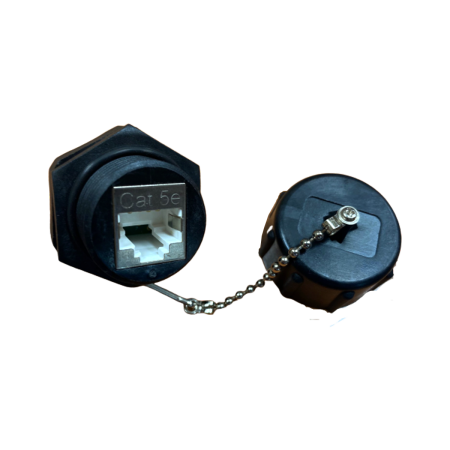 IP68 PoE++ Kategori 5E STP Industrial 110 Jenis Keystone Jack, - Cat.5E STP Industrial 110 Punch Down Keystone Jack