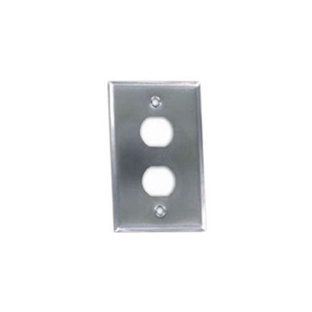 Industrial Faceplate 2 Port - IP44 Faceplate 2 Port