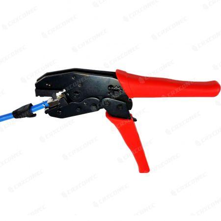 RJ45 Plug Termination Tool OD 8.0mm - Crimping Hand Tool for Larger OD Modular Plug