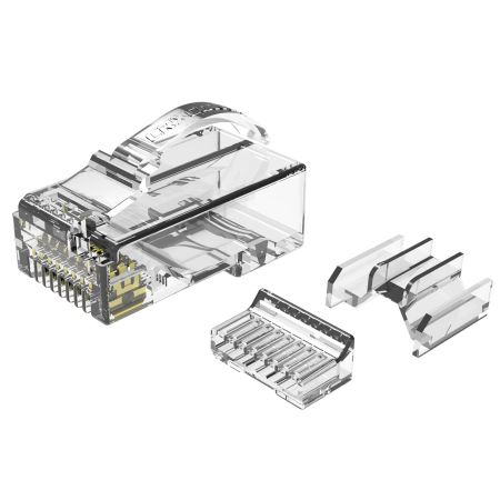 Category 6A RJ45 UTP Modular Connector - Cat.6A Snagless UTP RJ45 Connector with three pieces