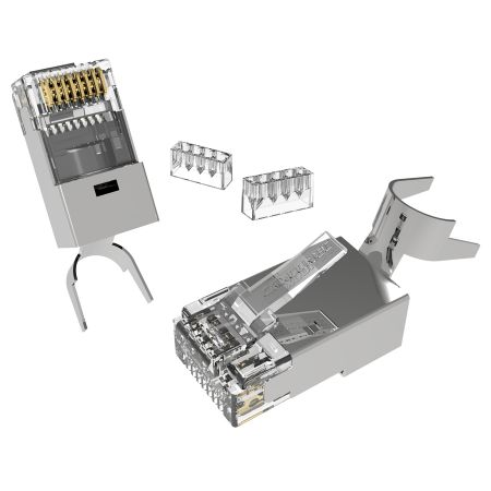 Category 7 shielded RJ45 connector for Larger cable - Cat6a RJ45 Connector